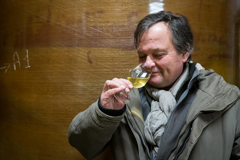 Jean-Yves Bardin, Jacques Carroget, Domaine de la Paonnerie, dégustation