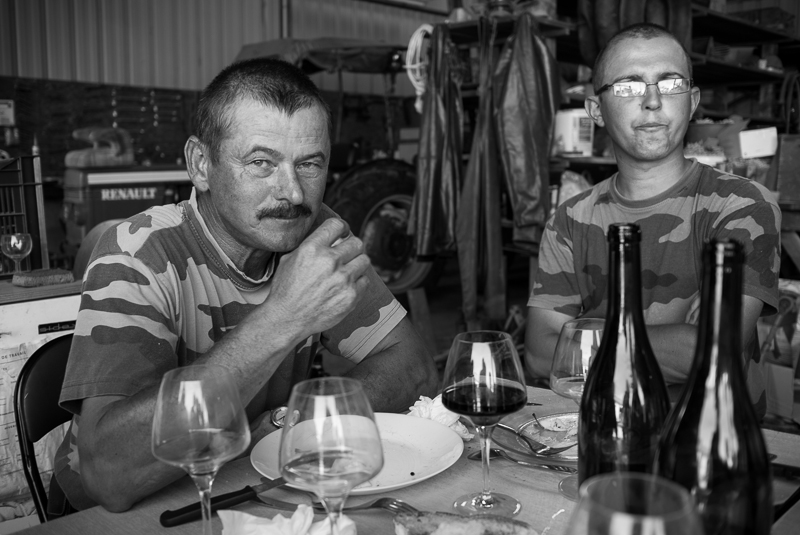 Repas de vendanges - Jean-Pierre © Jean-Yves Bardin 2011