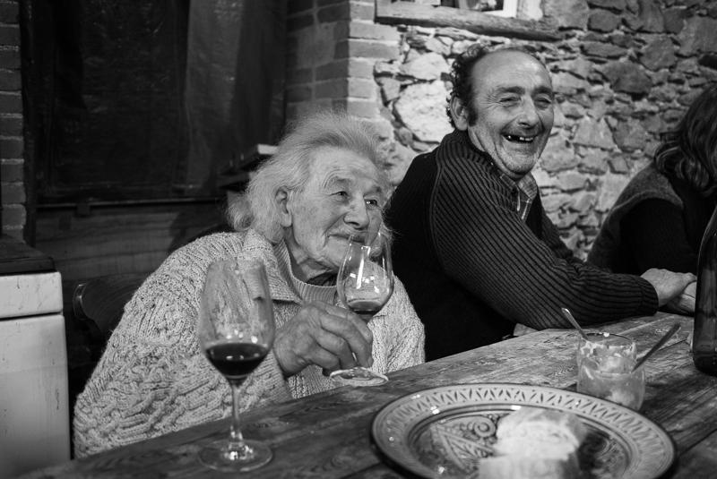 Repas de fin de vendanges - Anne Hacquet © Jean-Yves Bardin 2012