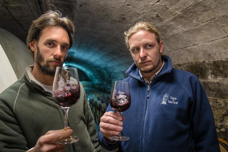 Jean-Yves BARDIN, Adrien et Guillaume Pire, chateau de fosse sèche, vigneron, bio, vin nature, biodynamie, vin, wine, photographie, photography