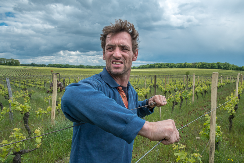 Jean-Yves BARDIN, Jean-Noel Millon, la Source du Ruault, vigneron, bio, biodynamie, vin, wine, photographie, photography