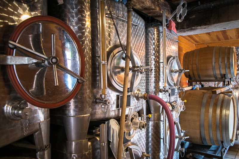 Jean-Yves BARDIN, Domaine Julien Meyer, vins d'Alsace, biodynamie, cave, art, gueules de vigneron