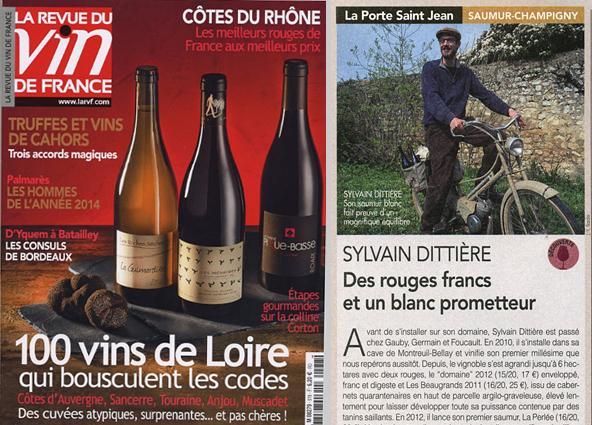 La Revue du Vin de France - Jean-Yves Bardin photographie