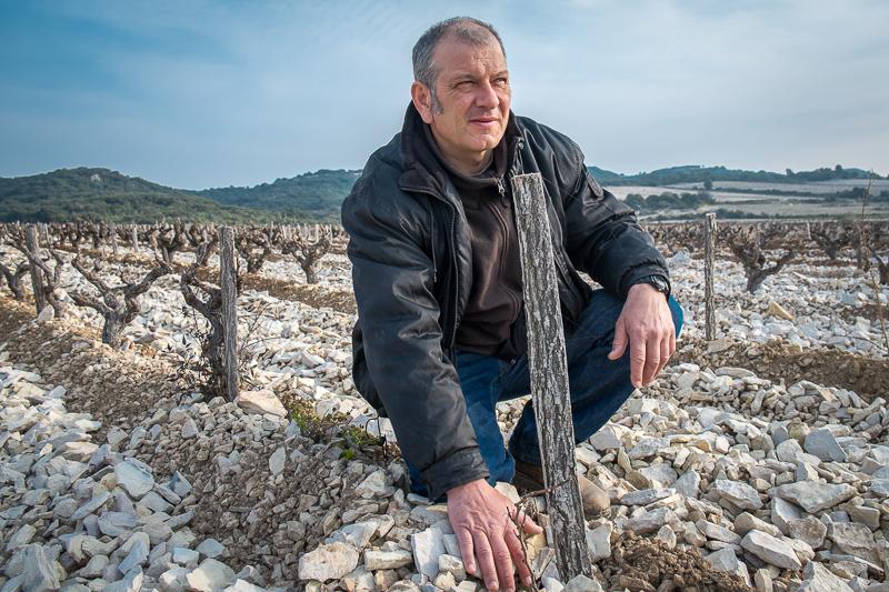 Eric Pfifferling, l'Angore, Vigneron, gueules de vignerons, vin nature, Tavel, Jean-Yves BARDIN