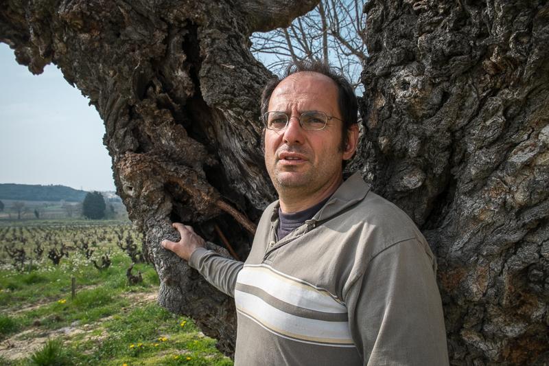 Laurent Charvin, Vigneron, gueules de vignerons, biodynamie, Chateuneuf du Pape, Jean-Yves BARDIN