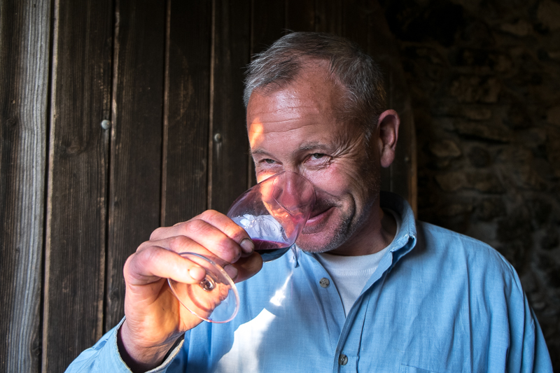 Didier Barral, Vigneron, gueules de vignerons, vin nature, Jean-Yves BARDIN