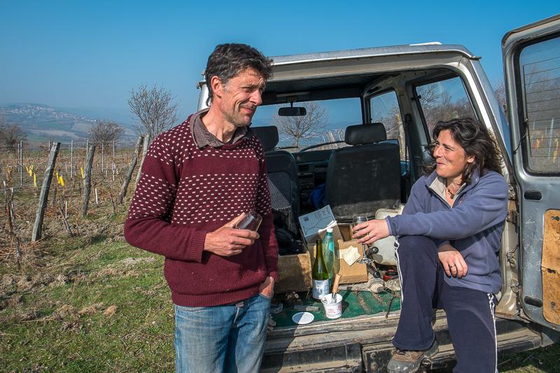 Vincent et Marie Tricot, Vigneron, gueules de vignerons, vin nature, Jean-Yves BARDIN
