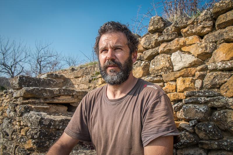 Pierre Beauger, Vigneron, gueules de vignerons, vin nature, Jean-Yves BARDIN