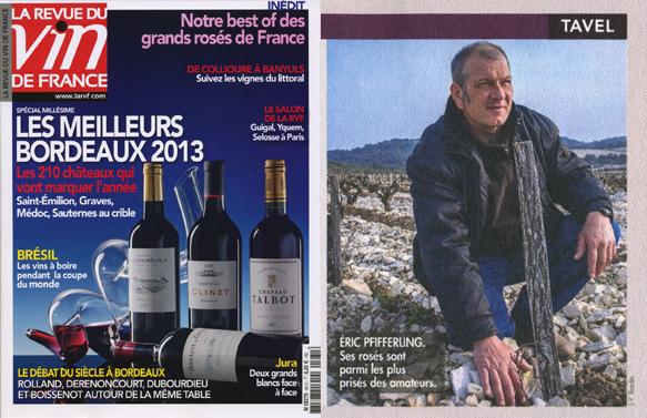 Jean-Yves Bardin - photographe, La revue du Vin de France, Eric Pfifferling