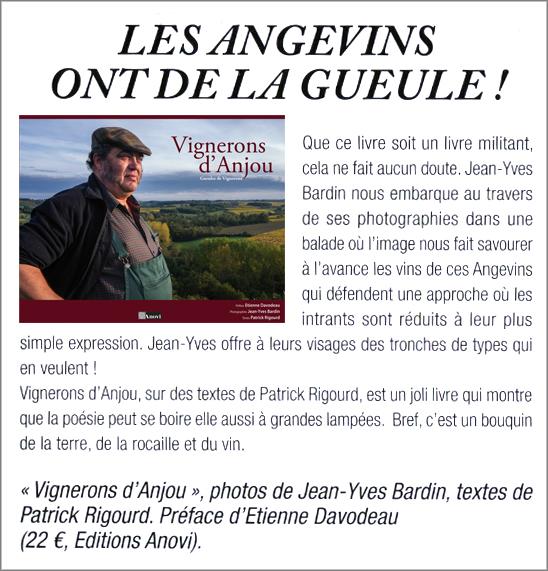 Gueules de vignerons, vignerons d'Anjou, photographies Jean-Yves Bardin - le vin ligérien