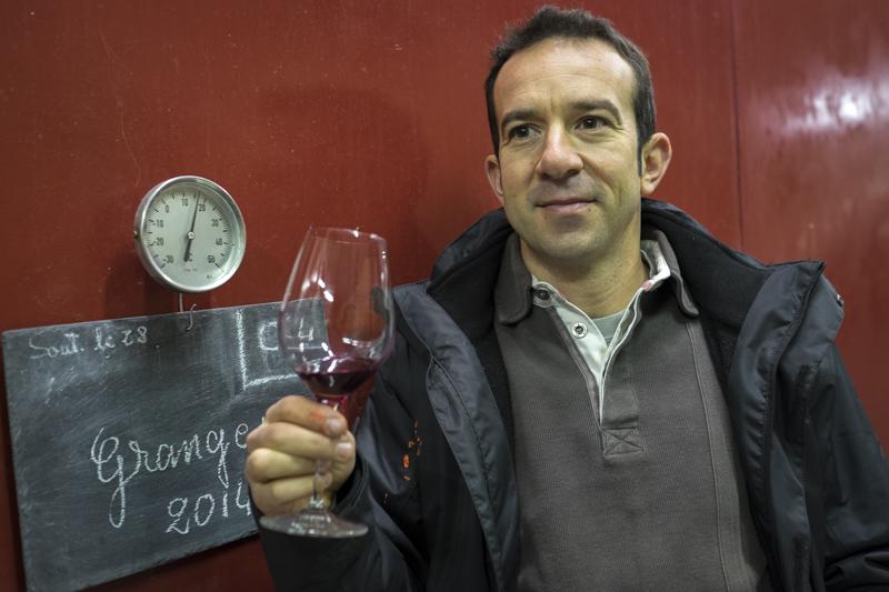 Mathieu Baudry, Domaine Bernard Baudry, Vigneron Chinon Touraine, gueules de vignerons, vin bio, vins de Chinon, Jean-Yves BARDIN