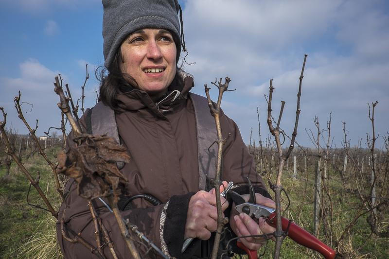 gueules de vignerons, portrait de vignerons, winemaker, Jean-Yves bardin photographe Gueules de vignerons, photographies de vignerons, Valérie Godelu, Les trois Petiotes, côtes de Bourg, Bordeaux
