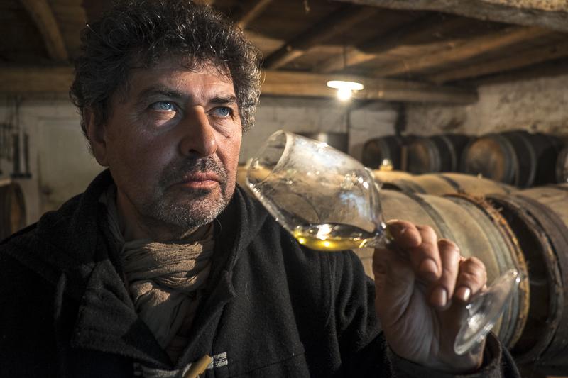 gueules de vignerons, portrait de vignerons, winemaker, Jean-Yves bardin photographe Gueules de vignerons, photographies de vignerons, Alain Dejean, Domaine Rousset Peyraguey, Sauternes, biodynamie, Bordeaux