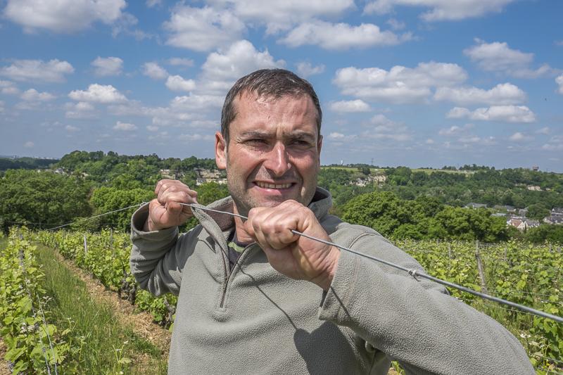 gueules de vignerons, vigneron bio Vouvray, winemaker, Jean-Yves bardin photographe Gueules de vignerons, portraits de vignerons, Jean-Yves bardin, biodynamie, vigneron bio Vouvray, Vincent Carême, Vin de Loire, vin bio Vin bio Vouvray, AOC Vouvray