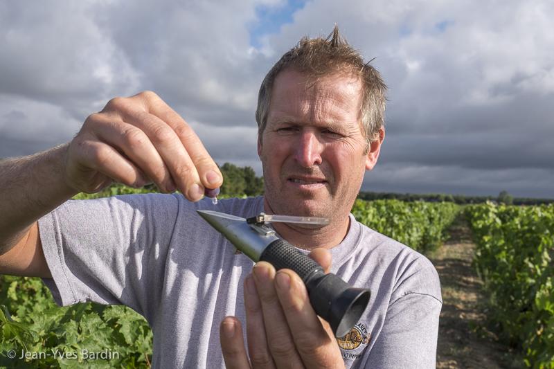 Toby Bainbridge, gueules de vignerons, winemaker, Jean-Yves bardin photographe Gueules de vignerons, portraits de vignerons, Vignerons de Loire, vins d'Anjou, Anges Vins