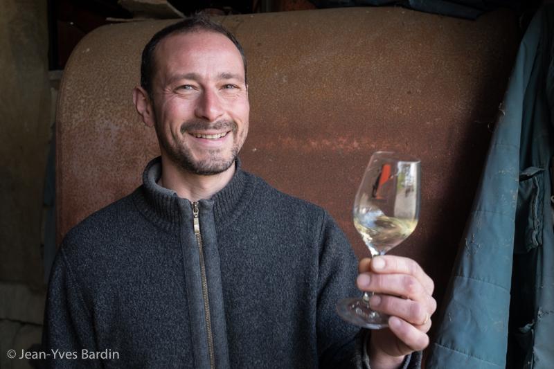 Renaud Guettier, Domaine de la Grapperie, gueules de vignerons, vigneron bio, organic wine, winemaker, Jean-Yves bardin photographe Gueules de vignerons, portraits de vignerons,Vignerons de Loire, la Soudaine, l'enchanteresse, la désirée, vigneron de Touraine