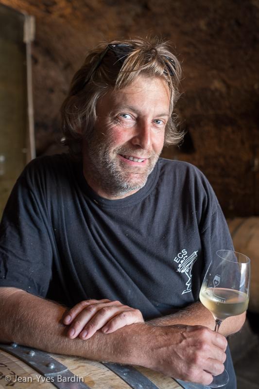 Frantz Saumon, Domaine Frantz Saumon, gueules de vignerons, vignerons de Loire, vigneron bio, organic wine, winemaker, Jean-Yves bardin photographe Gueules de vignerons, portraits de vignerons, Vignerons de Loire, Montlouis-sur-Loire, la Boutante, la cave se rebiffe, vin de Frantz, Montlouis-sur-Loire Minéral +