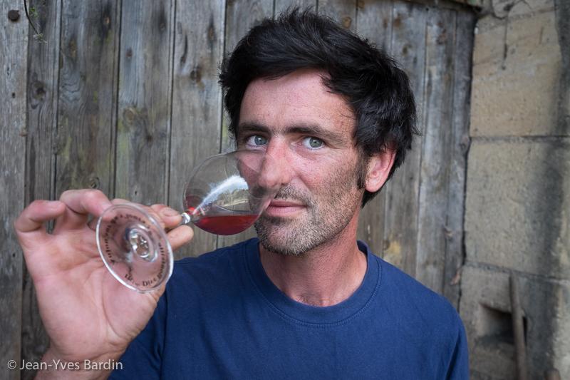 Vincent Bergeron, les vignes Bergeron, gueules de vignerons, vignerons de Loire, vigneron bio, organic wine, winemaker, Jean-Yves bardin photographe Gueules de vignerons, portraits de vignerons, Vignerons de Loire, Montlouis-sur-Loire