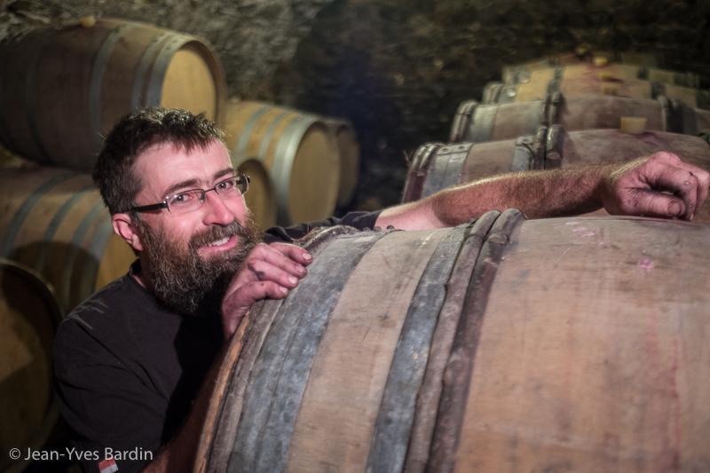 Yvan Bernard, vigneron d'Auvergne, vins d'Auvergne, Gueules de vignerons, Jean-Yves Bardin, organic wine, vigneron bio, vin, organic wine, vigneron auvergne, gamay, pinot noir, Les Domes, Arkose, Oppidum, AOC Côtes d'Auvergne, Vin de pays du Puy de Dôme, Petrosus, les Terrasses, Montpeyroux
