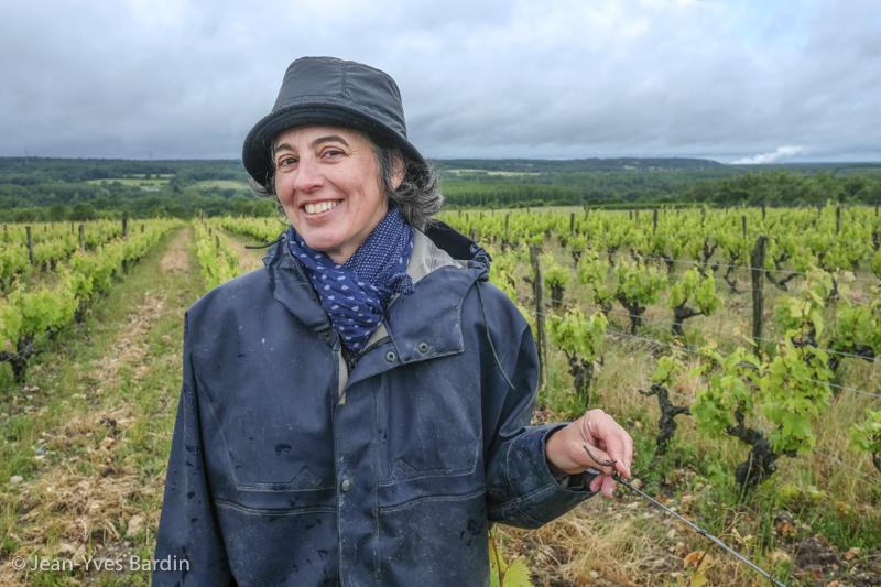 Marie Thibault, Marie Thibault vigneronne, gueules de vignerons, vignerons de Loire, vigneron bio, organic wine, winemaker, Jean-Yves bardin photographe Gueules de vignerons, portraits de vignerons, Vignerons de Loire