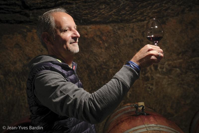 Clos Rougeard, Jacques-Antoine Toublanc, gueules de vignerons, vigneron bio, winemaker, Jean-Yves bardin photographe Gueules de vignerons, portraits de vignerons, vigneron Saumur, Saumur Champigny, les Poyeux, le Bourg, le Clos, Chacé