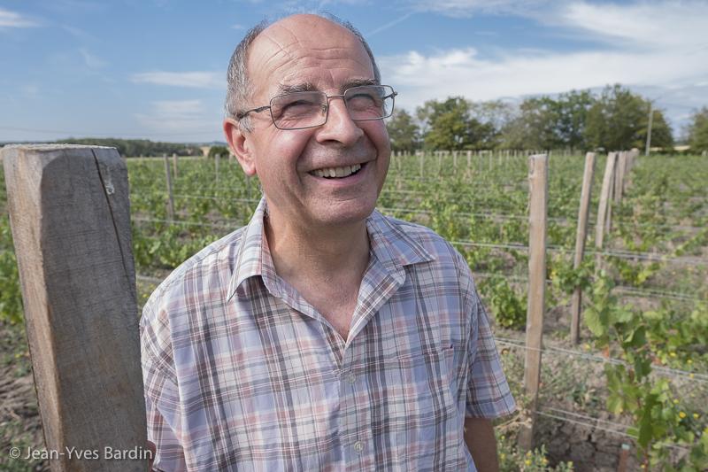 Michel Quenioux, Domaine de Veilloux, vignerons de Loire, biodynamie, organic wine, winemaker, Jean-Yves bardin photographe portraits de vignerons, Vignerons de Loire, Cheverny