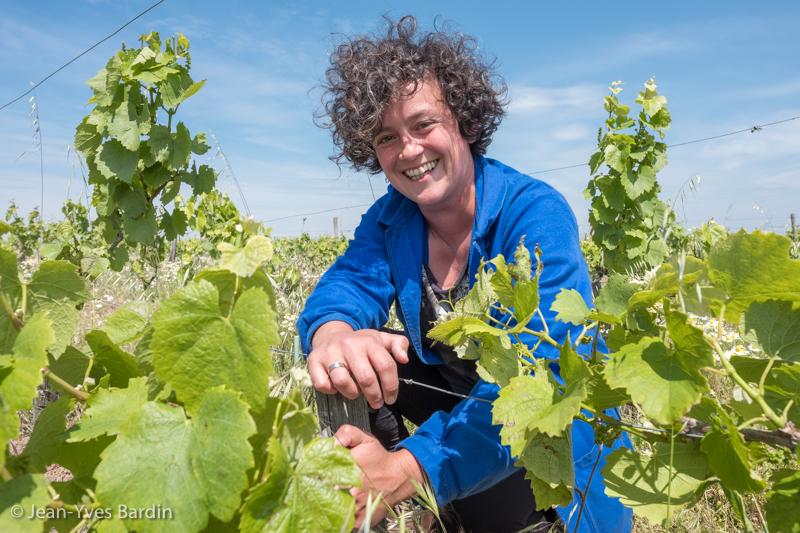 Marie Carroget, Jacques et Agnès Carroget, Domaine de la Paonnerie, vigneron Ancenis, vigneron, winegrower, portrait, vin bio, biodynamie, vin vivant, gueules de vignerons, vigneron bio, organic wine, Jean-Yves Bardin photographe Gueules de vignerons, portraits de vignerons, Vignerons de Loire, le rouge de la Jacquerie, simplement Gamay, ça c'est du rosé, le rosé d'Ancenis, rien que melon, le blanc de la Jacquerie